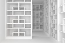 Free Shelves Room Stock Image - 25443641
