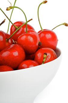 Free Fresh Ripe Cherry Stock Photo - 25446130