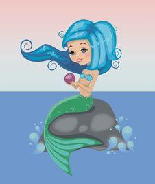 Free Mermaid2 Royalty Free Stock Photography - 25451967
