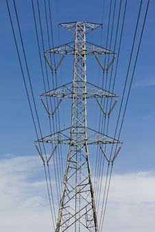 Free High Voltage Tower Stock Images - 25454574