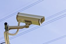 Free Surveillance Camera Stock Image - 25454651