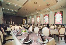 Free Hotel Restaurant Interior Stock Image - 25456621