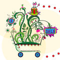 Free Shopping In Cart Royalty Free Stock Images - 25468689