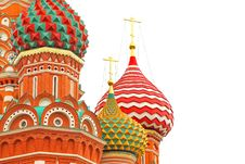 Free Saint Basil S Cathedral Stock Image - 25461191