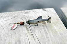 Free Fishing Lure Stock Photo - 25462010