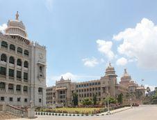 Free Vidhana Soudha - Landmark Structures Of Bangalore Stock Photography - 25464022