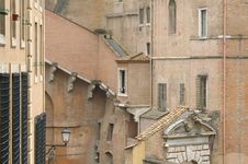 Free Ancient Buildings Of Vatican City Royalty Free Stock Image - 25465546