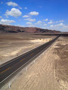 Free Road Through The Nazca Stock Photos - 25465753