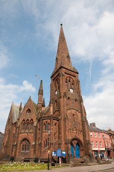 Free The Tall Church Stock Photo - 25466370