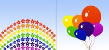 Rainbow Colors Royalty Free Stock Photography