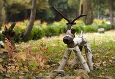 Free Wooden Deer Stock Photos - 25468513