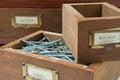 Free Antique Box Of Screws Stock Photos - 25471643
