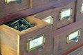 Free Partially Open Box Of Nails, Horizontal Stock Photo - 25471770