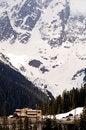 Free Ski Resort High Mountains Mt Baker Washington Royalty Free Stock Images - 25473999