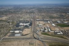 Free Major Phoenix Area Interchange Royalty Free Stock Photo - 25473935