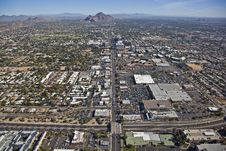 Free State Route 51 And Camelback Road Stock Image - 25473941