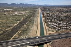 Free Arizona Canal Stock Images - 25474124