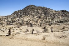 Free Charred California Desert Royalty Free Stock Images - 25474159