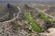 Desert Golf Royalty Free Stock Images