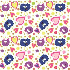 Monster S Pattern Stock Photography