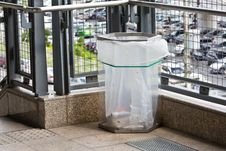 Free Transparent Trash Can Stock Image - 25477031