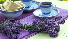 Free Relaxation With Lavender And Coffe Stock Photos - 25478383