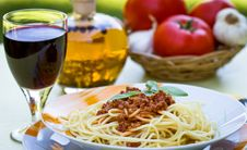 Free Spaghetti Bolognese Stock Images - 25478414