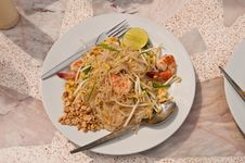 Free Pad Thai Royalty Free Stock Photos - 25480768