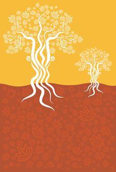 Free Autumn Season Tree Texture Background Royalty Free Stock Photo - 25481595