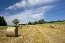 Free Straw Bales Stock Photos - 25485583