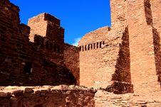 Free Quarai Ruin Walls Royalty Free Stock Photos - 25487048