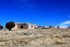 Free Back Wall Salinas Ruin Stock Image - 25487081