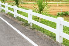 Free Concrete Fence Royalty Free Stock Images - 25488559