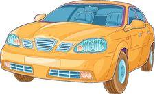 Free Yellow Auto Royalty Free Stock Image - 25489006