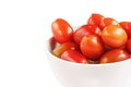 Free Group Of Red Color Ripe Organic Cherry Tomatoes Stock Photography - 25490902