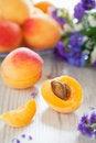 Free Fresh Apricots Stock Image - 25490971