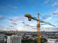 Free Tower Crane Stock Images - 25493244