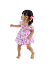 Free Lilttle Girl With Defensive Posture Royalty Free Stock Photos - 25494188