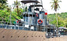 Free Battleship. Royalty Free Stock Photography - 25492237