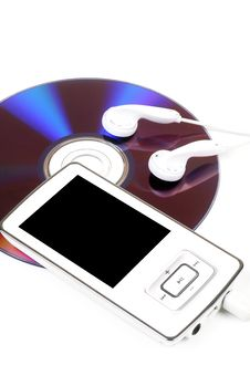 Free Mp3 Player Royalty Free Stock Image - 25492246