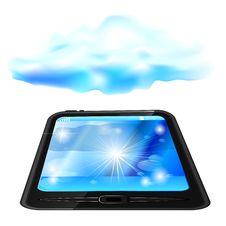 Free Cloud Computing Concept Stock Image - 25494221