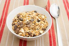 Free A Bowl Of Muesli Royalty Free Stock Photos - 25496748