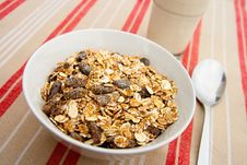 Free Cereals For Breakfast Stock Photos - 25496773
