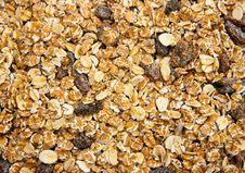 Free Muesli Background Stock Photography - 25496792