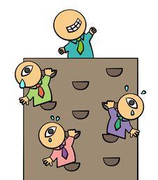 Free Wall Climb Stock Image - 25499341