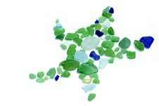Free Sea Glass Collection Stock Photo - 25499370