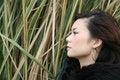 Free Asian Girl Looking Up Stock Photos - 2558183