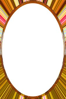 Free Oval Frame Royalty Free Stock Photos - 2551738