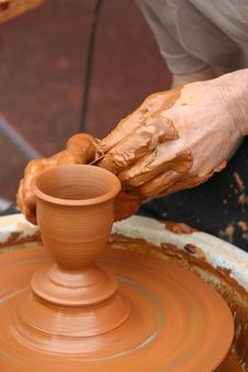 Free Potter Shapes The Pot Royalty Free Stock Photo - 2552705