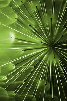 Free Green Abstract Feeling Stock Image - 2554971